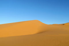 Beautiful sand desert royalty free stock photos
