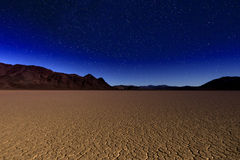 Beautiful Sand Dune Formations in Death Valley California Stock Photography