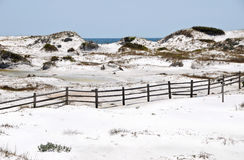 Beautiful Sand Dunes Royalty Free Stock Photo