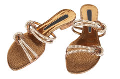 Beautiful sandals Stock Images