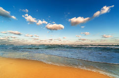 Beautiful sandy beach Royalty Free Stock Photos