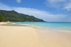 Beau Vallon beach, Seychelles islands Stock Images