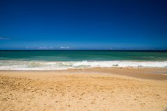 The Beautiful Shores of Maui Hawaii Royalty Free Stock Images