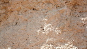 Beautiful sandy texture vertical wall stock video
