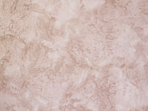 Beautiful sandy wall with plaster Royalty Free Stock Photo