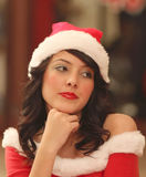 Beautiful Santa Royalty Free Stock Photo