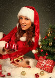Beautiful Santa Royalty Free Stock Photography