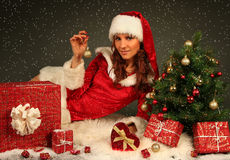 Beautiful Santa Royalty Free Stock Image