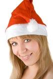 Beautiful santa girl Royalty Free Stock Images