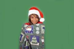 Beautiful Santa's Helper (5) Royalty Free Stock Images