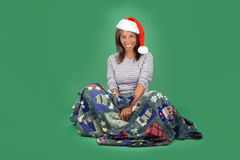 Beautiful Santa's Helper (9) Stock Photos