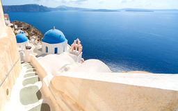 Beautiful Santorini Stock Image