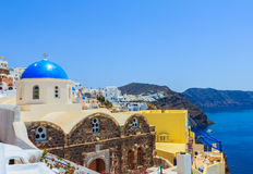 Beautiful Santorini Royalty Free Stock Photo