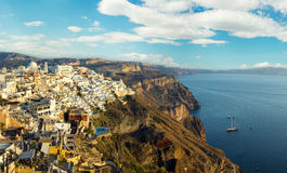 Beautiful Santorini island Royalty Free Stock Image