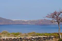 Beautiful Santorini island in spring. Royalty Free Stock Photo