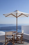 Beautiful Santorini view Royalty Free Stock Image
