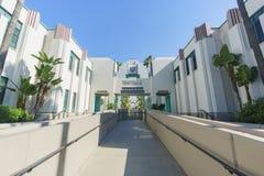 Beautiful scene around Beverly Hills city hall Stock Images