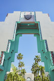 Beautiful scene around Beverly Hills city hall. Los Angeles, California Royalty Free Stock Photo