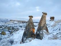 Beautiful  Scene in Cappadocia, Turkey Stock Photography