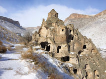 Beautiful  Scene in Cappadocia, Turkey Stock Photo