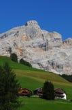 Beautiful Scene in the Dolomites, Alta Badia Stock Photography