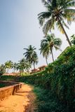 Travel in India. Beautiful scene in Goa, India Stock Photo