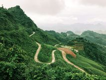 A beautiful scene of Ha Giang Stock Images