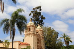 Beautiful scene with inviting views, Balboa Park, San Diego, California, 2016 Royalty Free Stock Image
