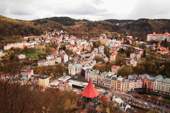 Beautiful scene, Karlovy Vary (Carlsbad) Stock Image