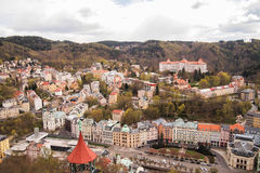 Beautiful scene, Karlovy Vary (Carlsbad) Royalty Free Stock Photos