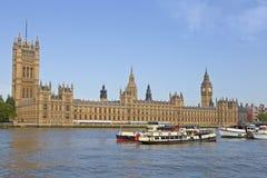 London Skyline and Big Ben stock photography