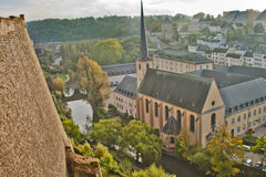 Beautiful  Scene in Luxemburg. Europe Royalty Free Stock Photos