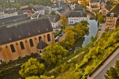 Beautiful  Scene in Luxemburg. Europe Stock Photography