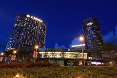 Beautiful scene in Macau at dusk royalty free stock images