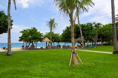 Beautiful Scene and nature in Bali Resort Royalty Free Stock Photography