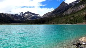 Rocky Mountains, Banff National Park, Canada. Beautiful Scene in one of the Rocky Mountain, Banff National Park - Canada stock photography