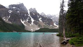 Rocky Mountains, Banff National Park, Canada. Beautiful Scene in one of the Rocky Mountain, Banff National Park - Canada stock photo