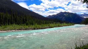 Rocky Mountains, Banff National Park, Canada. Beautiful Scene in one of the Rocky Mountain, Banff National Park - Canada royalty free stock photos