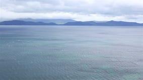 Beautiful scenery along the Atlantic Ocean stock video