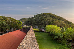 Beautiful scenery of ancient Dutch Galle Fort Stock Photos