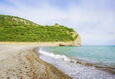 Beautiful scenery of the coast in  South Russia Stock Photography