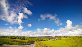 Beautiful scenery of a county Cork surroundings Royalty Free Stock Photos