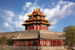 Beautiful scenery at The Forbidden City Royalty Free Stock Photos