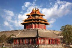 Beautiful scenery at The Forbidden City royalty free stock photos
