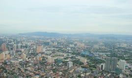 Beautiful Scenery of Kuala Lumpur from Petronas Towers in Malaysia Stock Photos