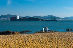Beautiful scenery in Gulang Island Royalty Free Stock Photo