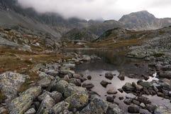 Beautiful scenery of High Tatra mountains. Slovakia Stock Images