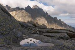 Beautiful scenery of High Tatra mountains. Slovakia Royalty Free Stock Photos