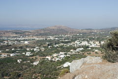 Beautiful scenery on the island of KOs. The view from the top. Royalty Free Stock Photos