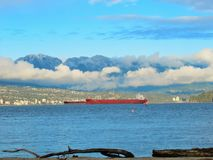 Beautiful Scenery At Jericho Beach royalty free stock image